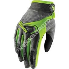 Guanti Glove Cross Enduro Quad Donna Thor Tessuto Spectrum Nero Verde