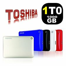 HDD 1 TO TB Disque dur Externe portable 2.5 Toshiba Canvio Connect II 1TB 1TO