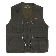 Men Casual Multi-pockets Vest Fishing/Photography/Director/Travel Waistcoat