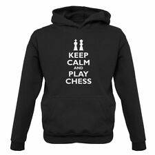 keep calm and play ajedrez - Infantil/Sudadera Con Capucha Infantil - Player -