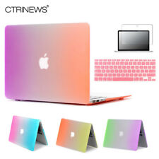 CTRINEWS Arc-En-Cas Mat Pour Apple Macbook Air 13 Cas Air 11 Pro 13 Retina 12 13