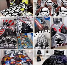 Star Wars Single Double Bedding Set Duvet Cover Lego Darth Vader Storm Troopers