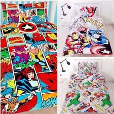 *Sale* Marvel Comics Justice League Retro Bedding Set Single Double Duvet Cover