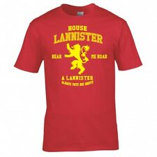 "Game Of Thrones Casa Lannister "" T SHIRT"