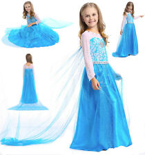 Frozen - Vestito Carnevale Elsa Dress up Costumes 789007BELUX E