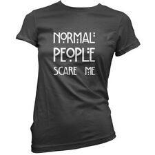 Normal People Scare Me - Donna / T-shirt da donna - 11 COLORI - Horror Story