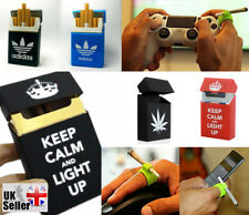 Adidas Rubber Silicone Smoking Smokers Cigarette Gamer PC Holder Box Cover Case