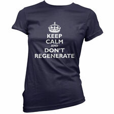Keep Calm and Don't Regenerate - Donna / T-shirt da donna - Peter Capaldi