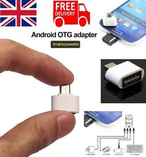 Mini Micro USB OTG to USB 2.0 Adapter Plug for Samsung S7 EDGE & Android Device