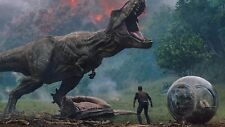 t-rex-jurassic-world-fallen-kingdom-2018-movie jurassic park Poster A3-A4-48