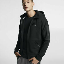 Nike Men's Hooded Black Tribute Tracksuit Top with Jogging Bottoms S M L XL