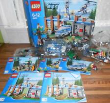 Lego City Forest Police Station Set 4440 Manuals Minifig Brown Bear Incomplete