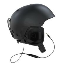 Salomon Brigade Audio Black Helmet