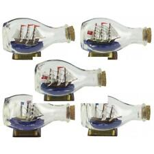 Ship In Bottle - Bounty / Cutty Sark / Endeavour / Mayflower / Victory