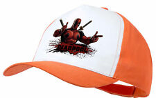 CAPPELLO DEADPOOL HERO LOCO GIOCHERELLONA ARANCIONE ORANGE CAP ES