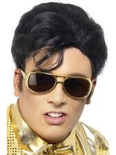 Official Elvis Presley Rock N Roll Stag Fancy dress Costume Wig Accessories