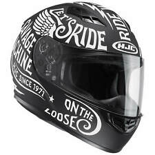 HJC cs-15 Rebel Casco de moto integral Touring - Mate Negro Blanco