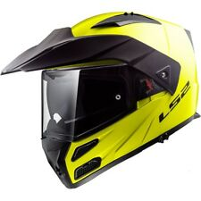 LS2 casque intégral modulable FF324 METRO EVO SOLID fluo brillant moto scooter