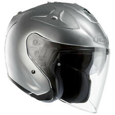 hjc fg-jet metallique moto Casque jet - Chrome Argent