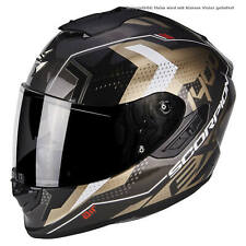 SCORPION exo-1400 AIR Trika CASCO MOTO TOURING - ORO NERO
