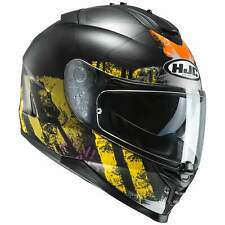 HJC IS-17 shapy CASCO MOTO TOURING - Nero Opaco Giallo