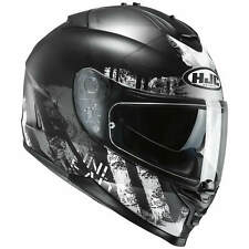 HJC IS-17 shapy CASCO MOTO TOURING - Nero Opaco Bianco