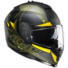 HJC IS-17 ARMADA CASCO MOTO TOURING - Nero Opaco Giallo