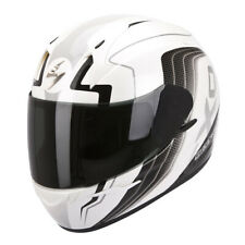 SCORPION EXO-410 AIR ALTUS CASCO INTEGRALE - Madreperla Nero Bianco