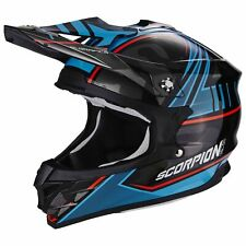 SCORPION VX-15 EVO AIR Miramar MOTO CASCO DA CROSS - nero blu