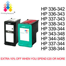Remanufactured Ink Cartridges Replace For HP 336 342 337 343 338 344 339 348