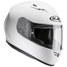 HJC cs-15 Solid Casco de moto integral Touring - Blanco
