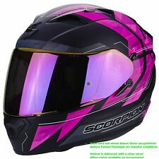 SCORPION exo-1200 air Hornet casco de moto integral - Mate Negro Rosa