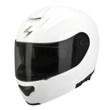 scorpion exo-3000 air solid Casque modulable - Blanc