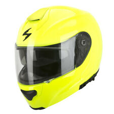 SCORPION EXO-3000 AIR SOLID CASCO MODULARE - Giallo Fluo