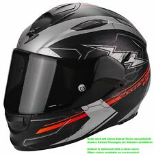 SCORPION EXO-510 AIR CROSS CASCO MOTO TOURING - nero opaco argento R