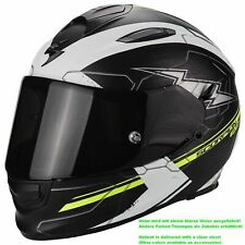 SCORPION EXO-510 AIR CROSS CASCO MOTO TOURING - NERO OPACO BIANCO NE