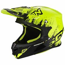 SCORPION vx-21 AIR mudirt MOTO CASCO DA CROSS - NERO GIALLO FLUO