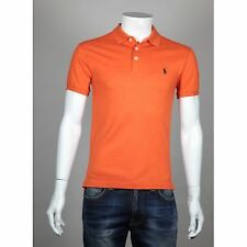 POLO RALPH LAUREN MANCHES COURTES ORANGE