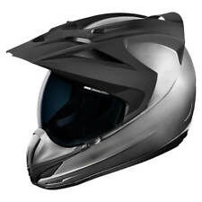 ICON VARIANT Quicksilver CASCO INTEGRALE DA MOTO CROSSOVER COMPOSITO FIBRA -