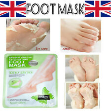 Exfoliating Peel Renewal Foot Aleo Vera Mask Baby Soft Feet Remove Dead Skin UK