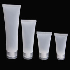 Empty Plastic Portable Tubes Squeeze Cosmetic Cream Lotion Cleanse Travel Bottle