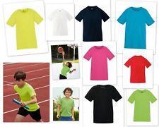 Fruit of the Loom Kids Ajuste Performance T - Camiseta T-shirt Camisa funcional
