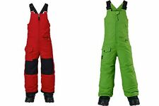 PANTALONE SNOWBOARD BURTON BOYS MS MAVEN BIB PROCESS RED / C-PROMPT