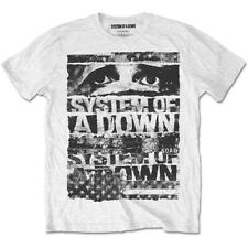 System of a Down Torn Rock Heavy Metal Official Tee T-Shirt Mens Unisex