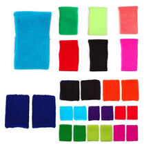 1 Pair of Womens Fashionable Wristbands Various Bright Colours Sports Exercise