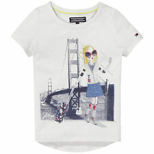 TOMMY HILFIGER T-Shirt M Fille Taille 74, 80, 86, 92, 98, 104, 116, 122,