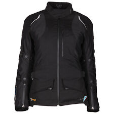 Modeka AFT mujer mujer chaqueta textil Touring - Negro