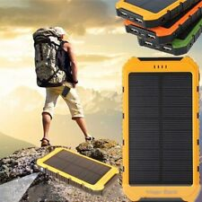 18000mAh Solar Panel 2A 1A Battery Power Bank External Portable Phone Charger GZ