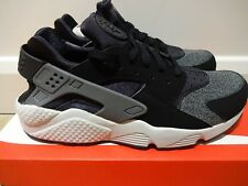 NIKE AIR HUARACHE - BLACK / ANTHRACITE / PLATINUM *BNIB* UK MENS SIZE 10