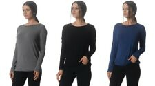 Kit and Ace Easygoing Drop Shoulder Long Sleeve Top Cashmere 6 8 10 12 NWT $150